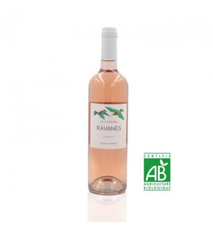 Domaine de Ravanès Le guépier rosé bas de cinsault frais et léger