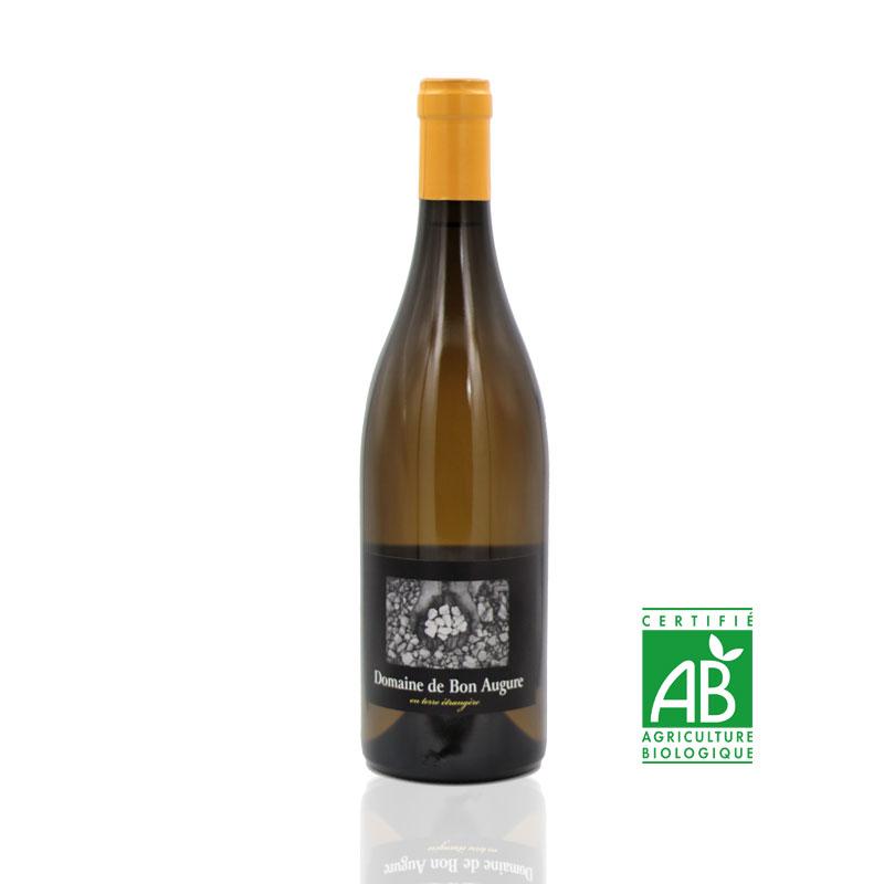 Bon augure En terre Étrangère vin bio du Languedoc Chardonnay
