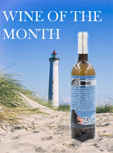 """Wine of the month mineral and aromatic wine """"Mermaids of Cadaquès"""" for garlic razor shell or a plate of shells"""