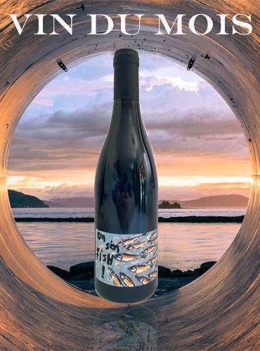 Vin du mois Cinsault On s'en fish Domaine Gardiès frais fruité et léger pour l'été