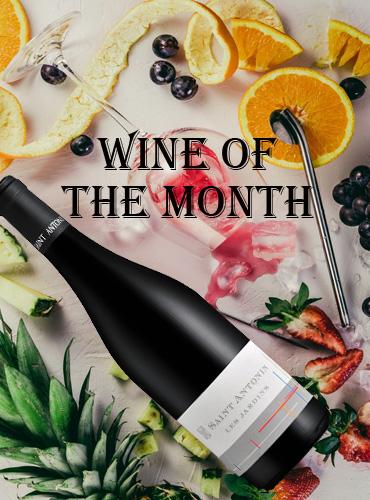 Wine of the month saint antonin les jardins